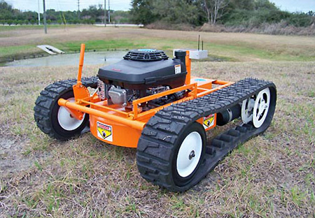 Lawn Mower Tank Doubles As Snow Plow Priced At 11 999