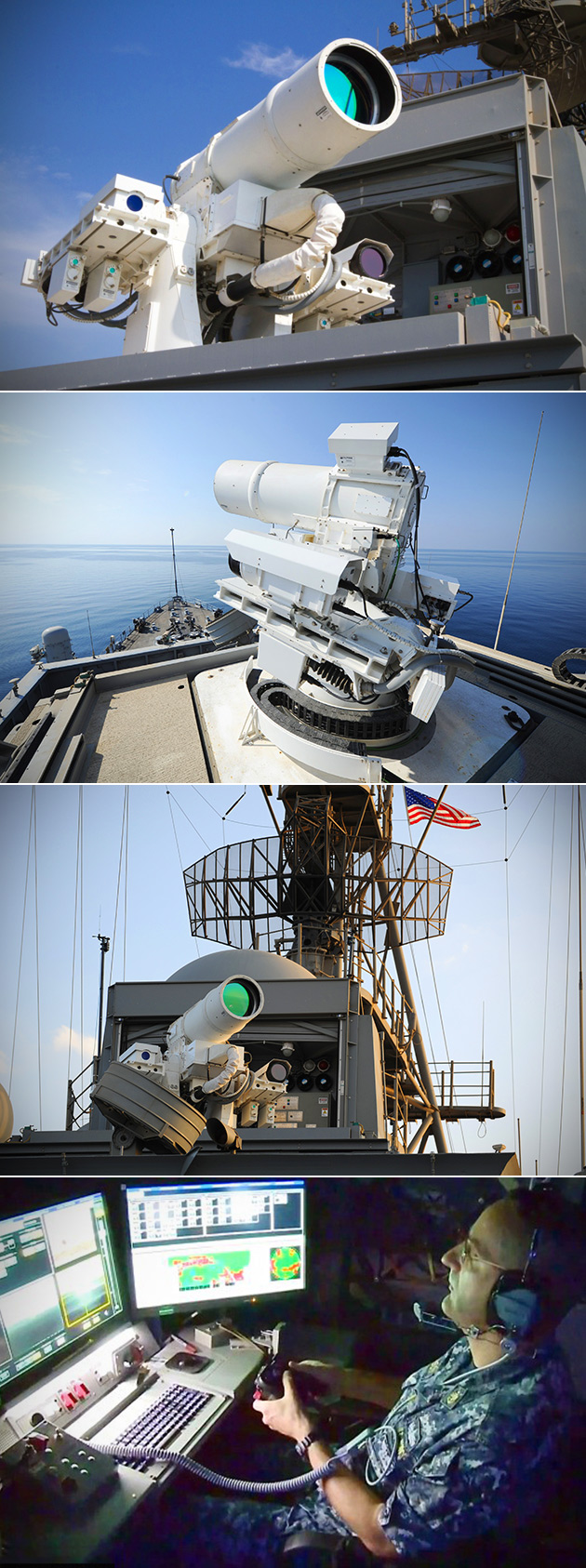 LaWS Laser Weapon System