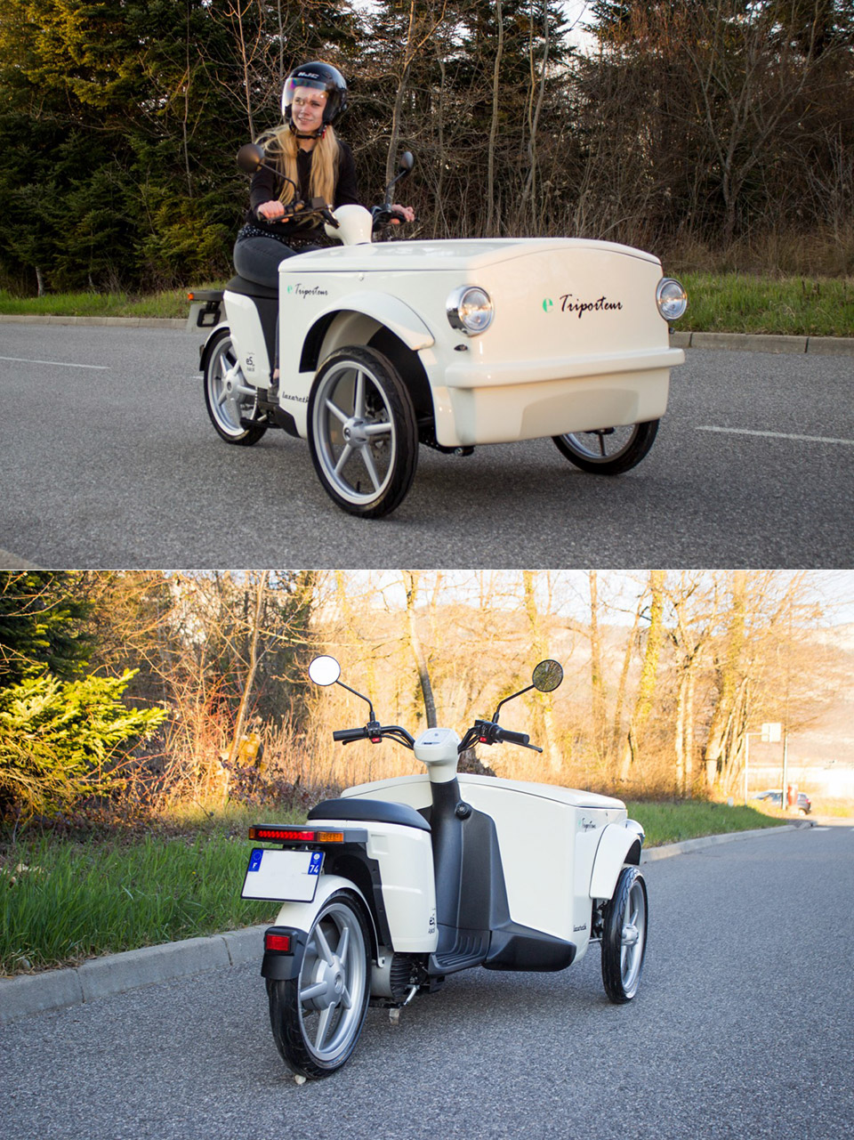 Lazareth e-Triporteur Electric Scooter