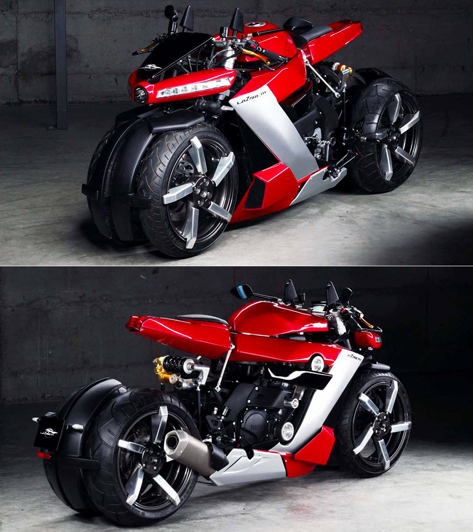 Lazareth LM 410 Four-Wheeled Motorcycle