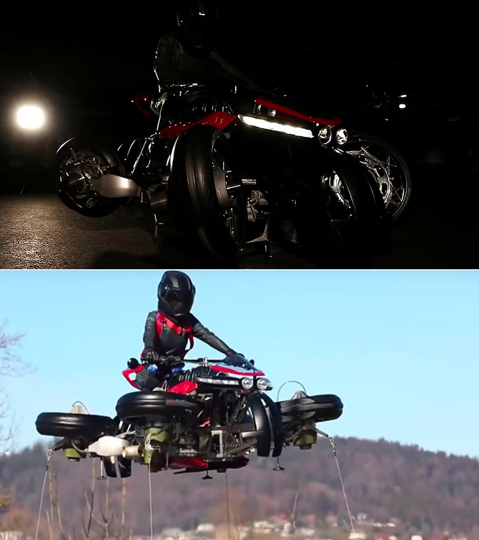 Lazareth LMV 496 Flying Bike