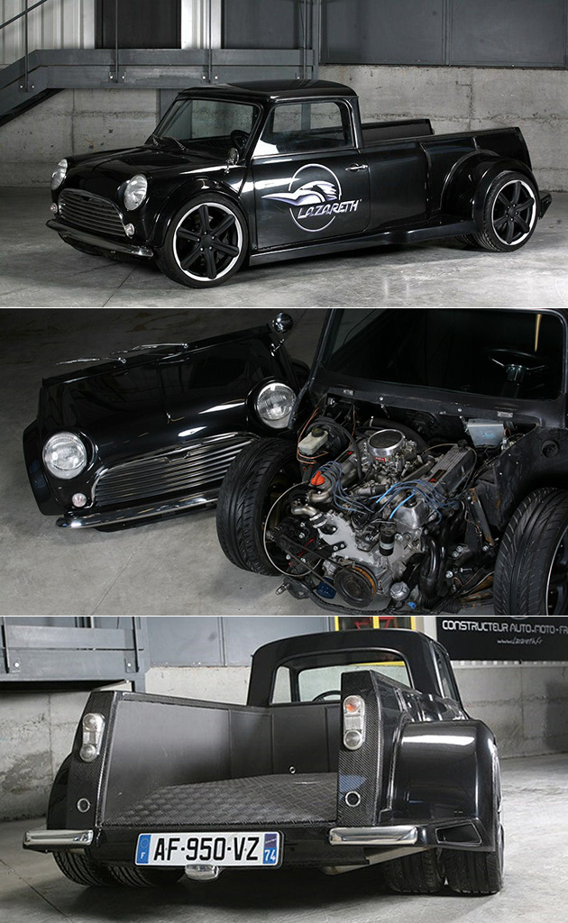 Lazareth V8 Mini Pickup