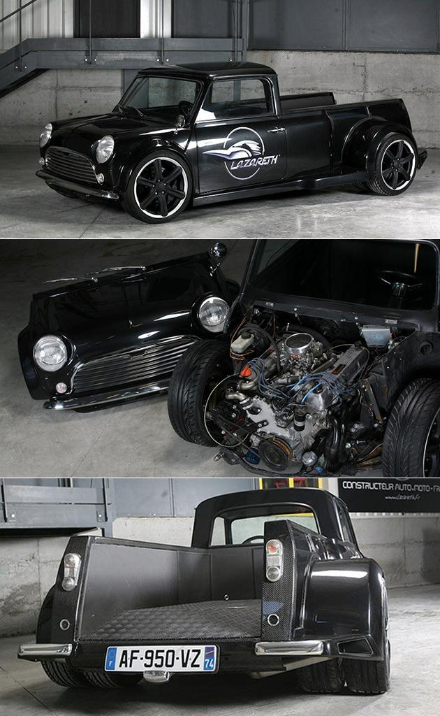 Lazareth V8 Mini Pickup