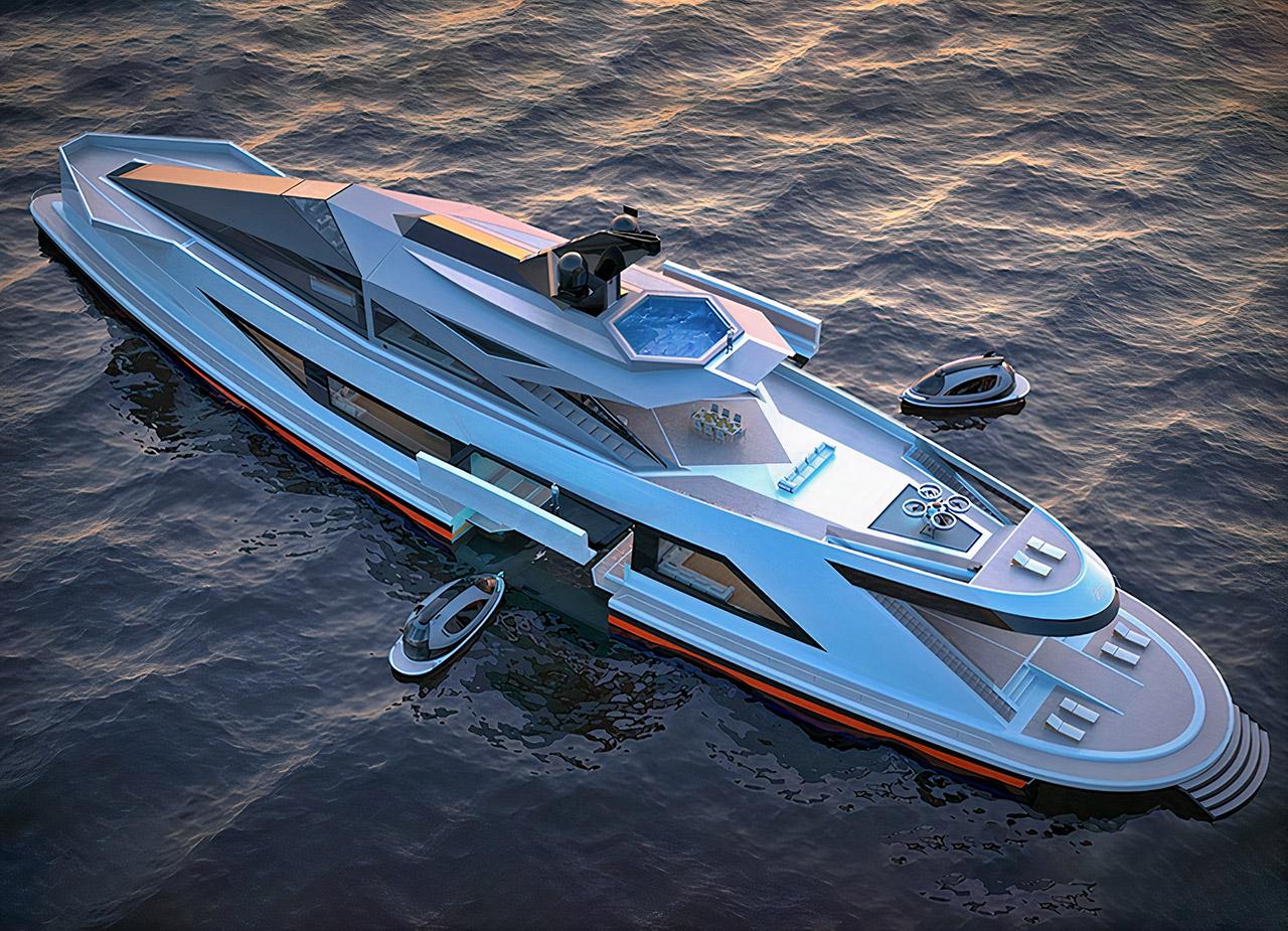 Lazzarini Saturnia Superyacht