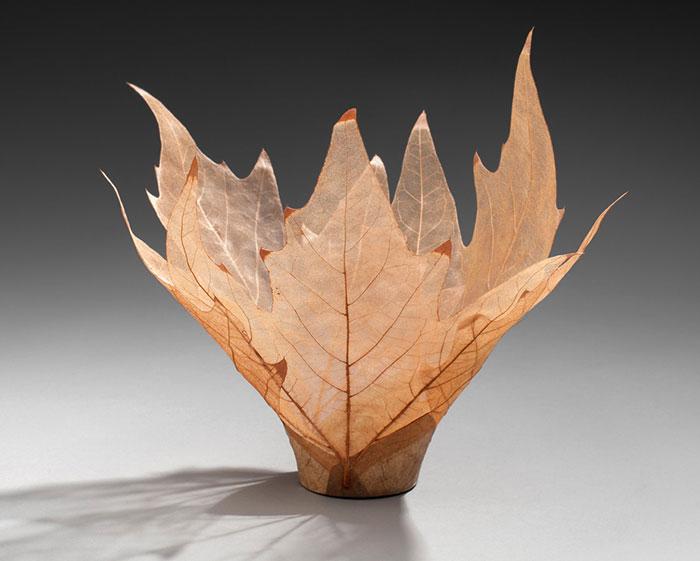 Leaf Skeleton Bowl