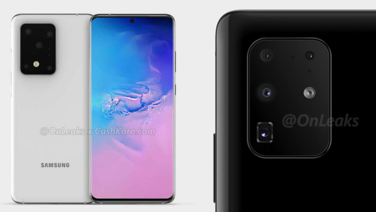 Leaked Samsung Galaxy S11 Pictures