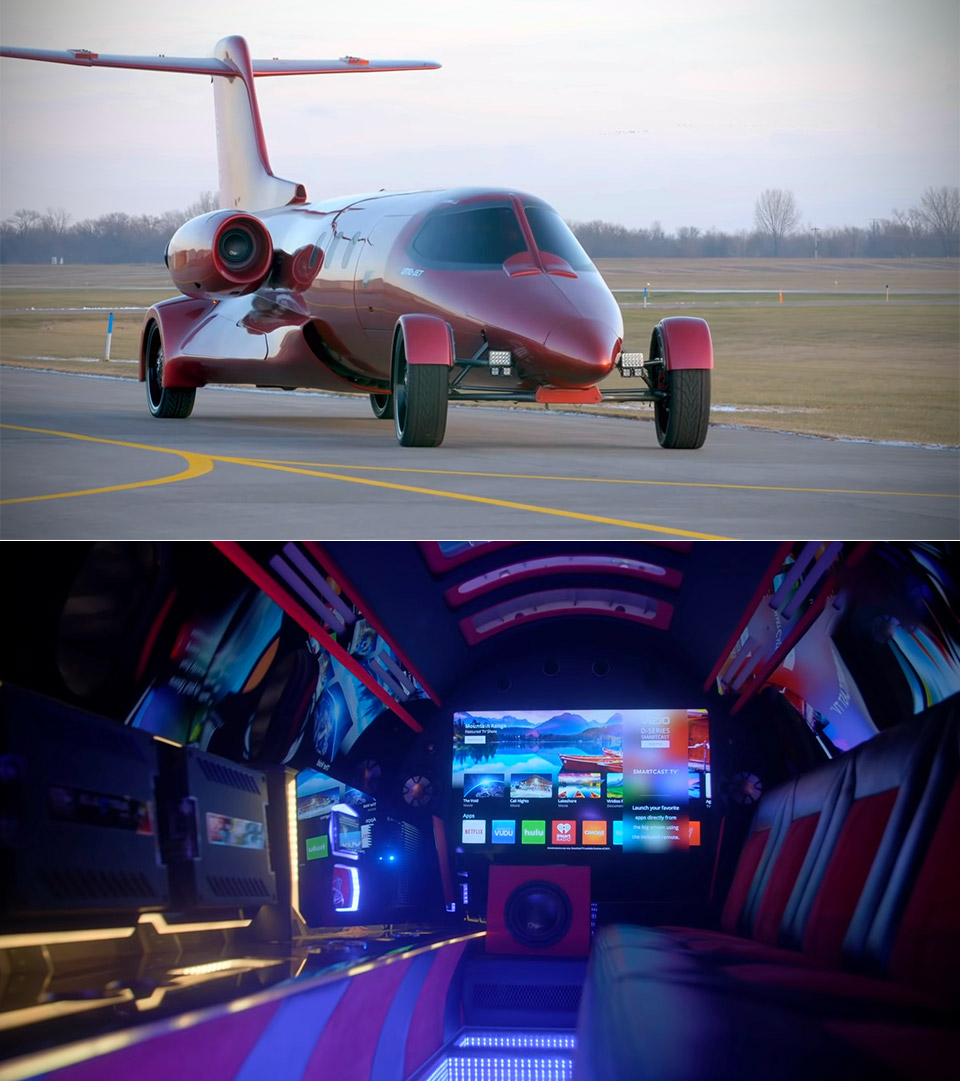 Learjet Limo