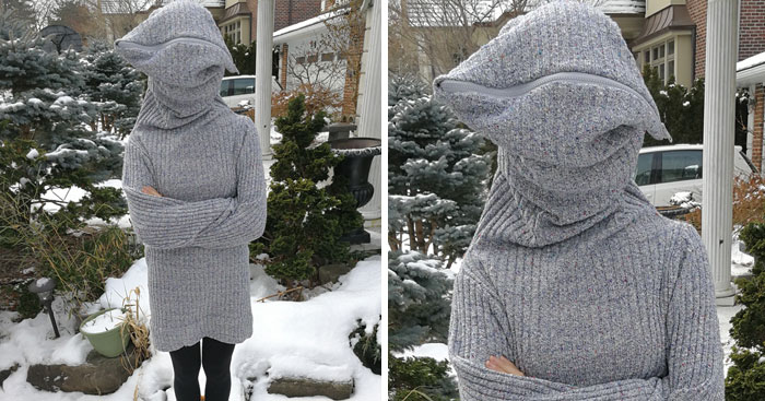 Leave Me Alone Sweater