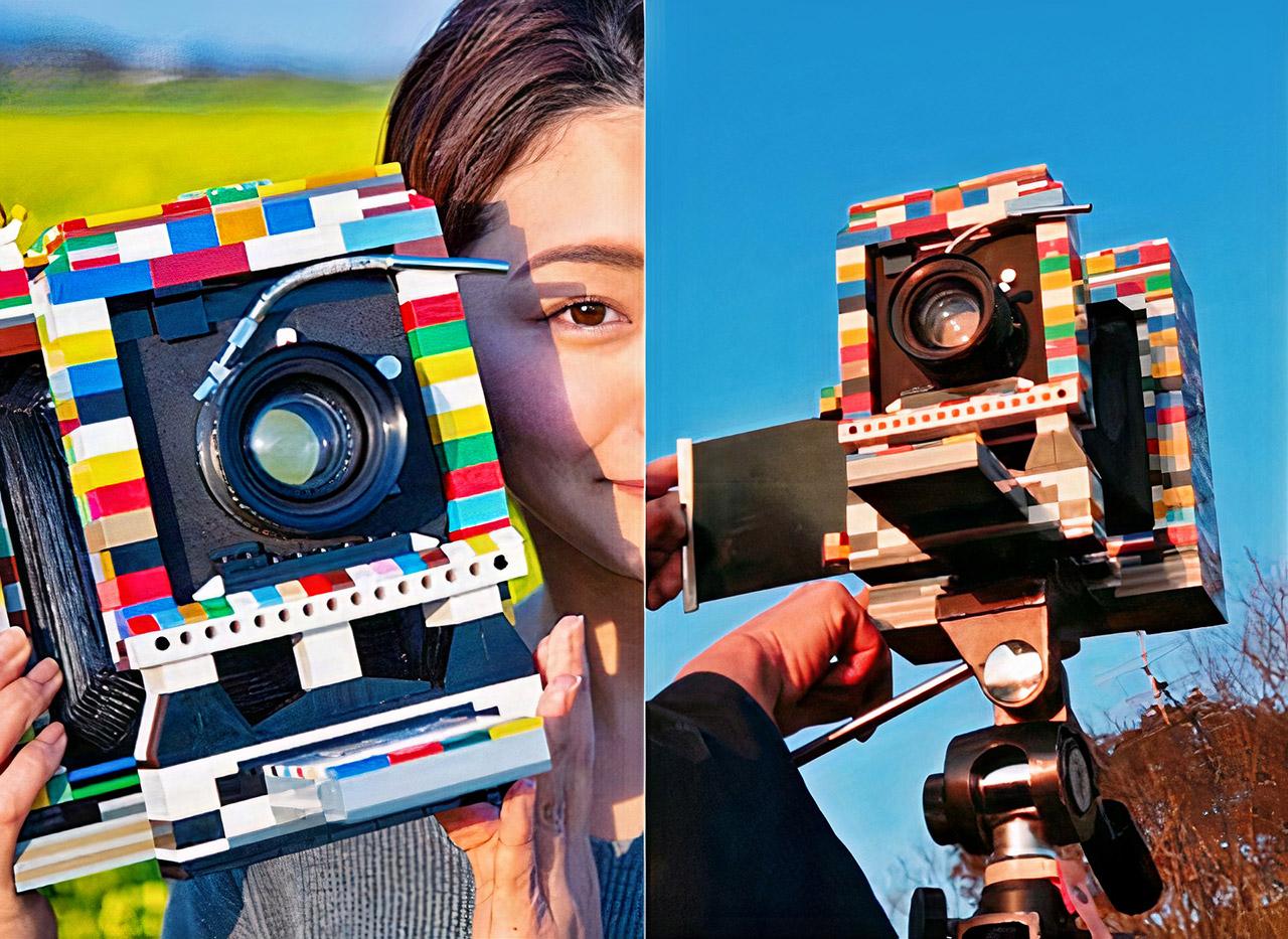 LEGO 4x5 Camera