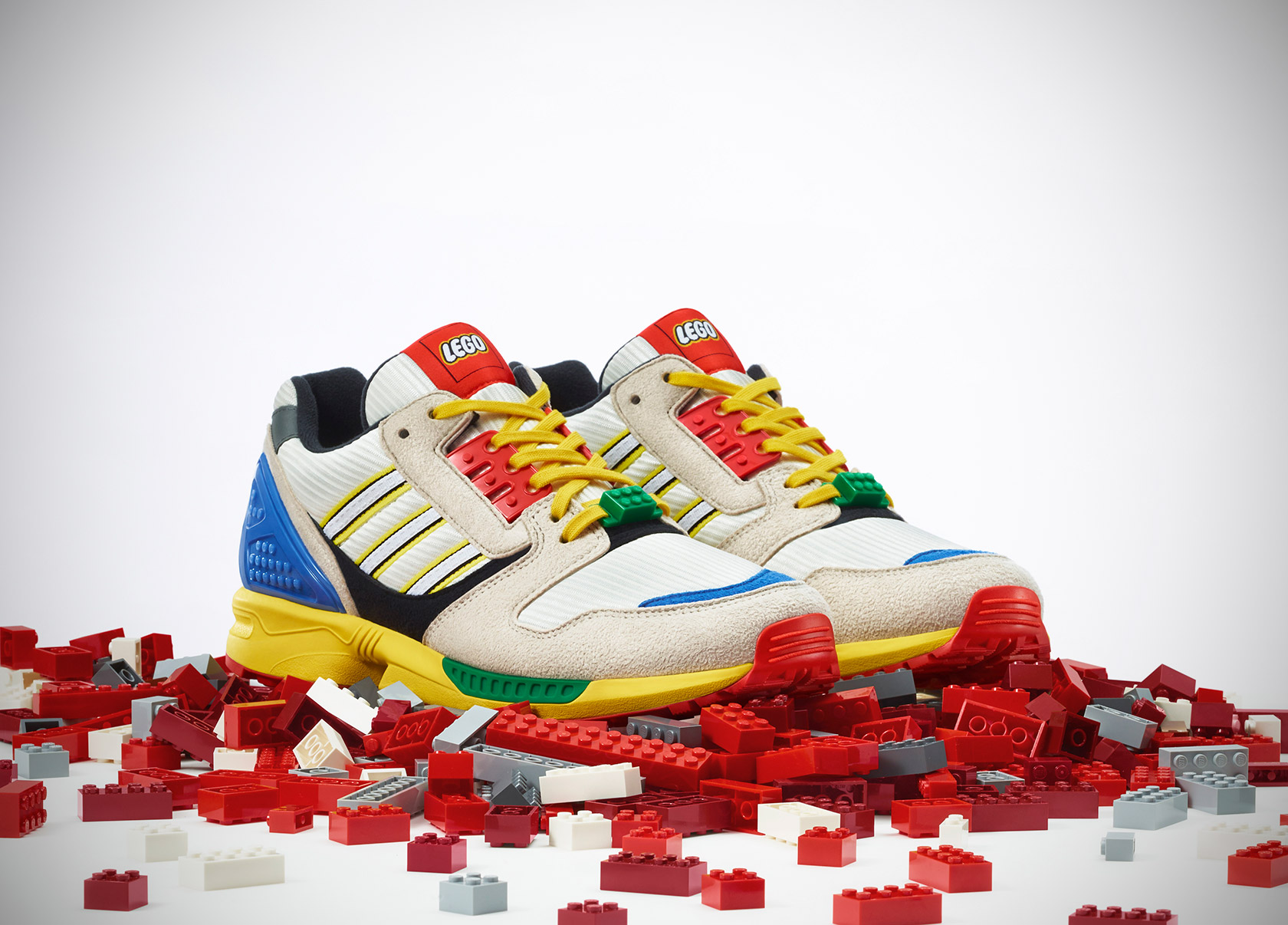 LEGO x Adidas Originals ZX8000 Sneakers