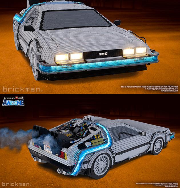 LEGO BTTF DeLorean