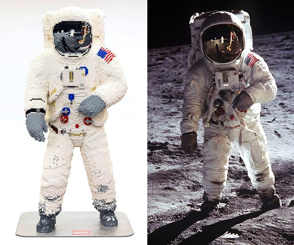 LEGO Buzz Aldrin Apollo 11