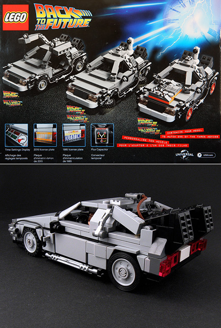 Lego 21103 The Delorean Time Machine On Sale For 29 97