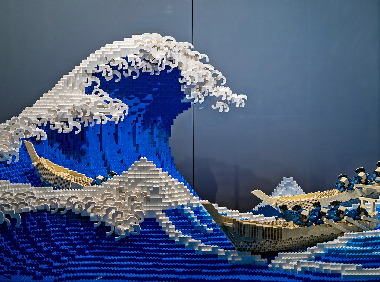 LEGO Great Wave Off Kanagawa