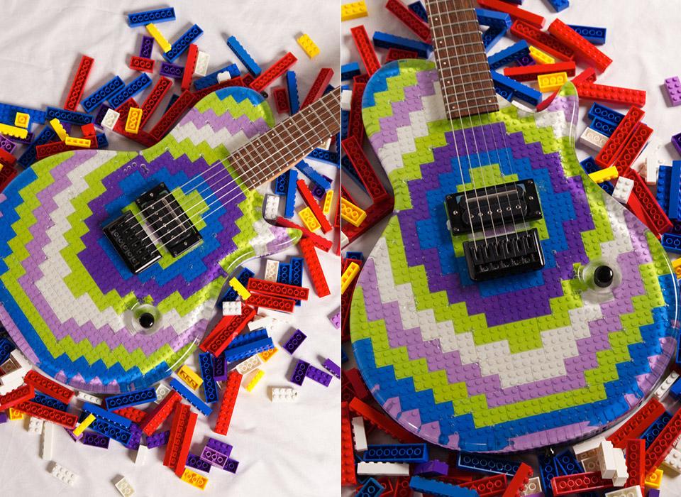 LEGO Guitar LEGOCaster