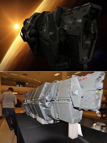 LEGO Halo Ship