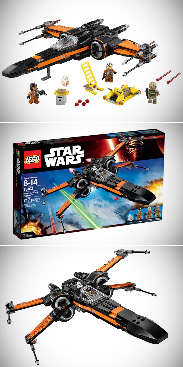 LEGO Poe's X-Wing Fighter