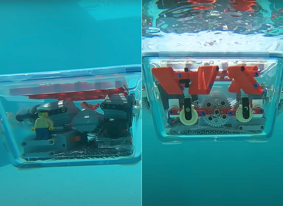 LEGO-Powered Submarine