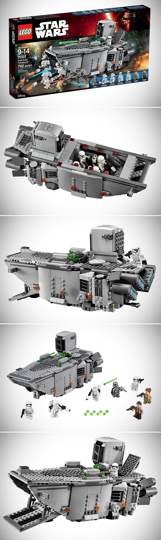 LEGO Star Wars First Order Transporter