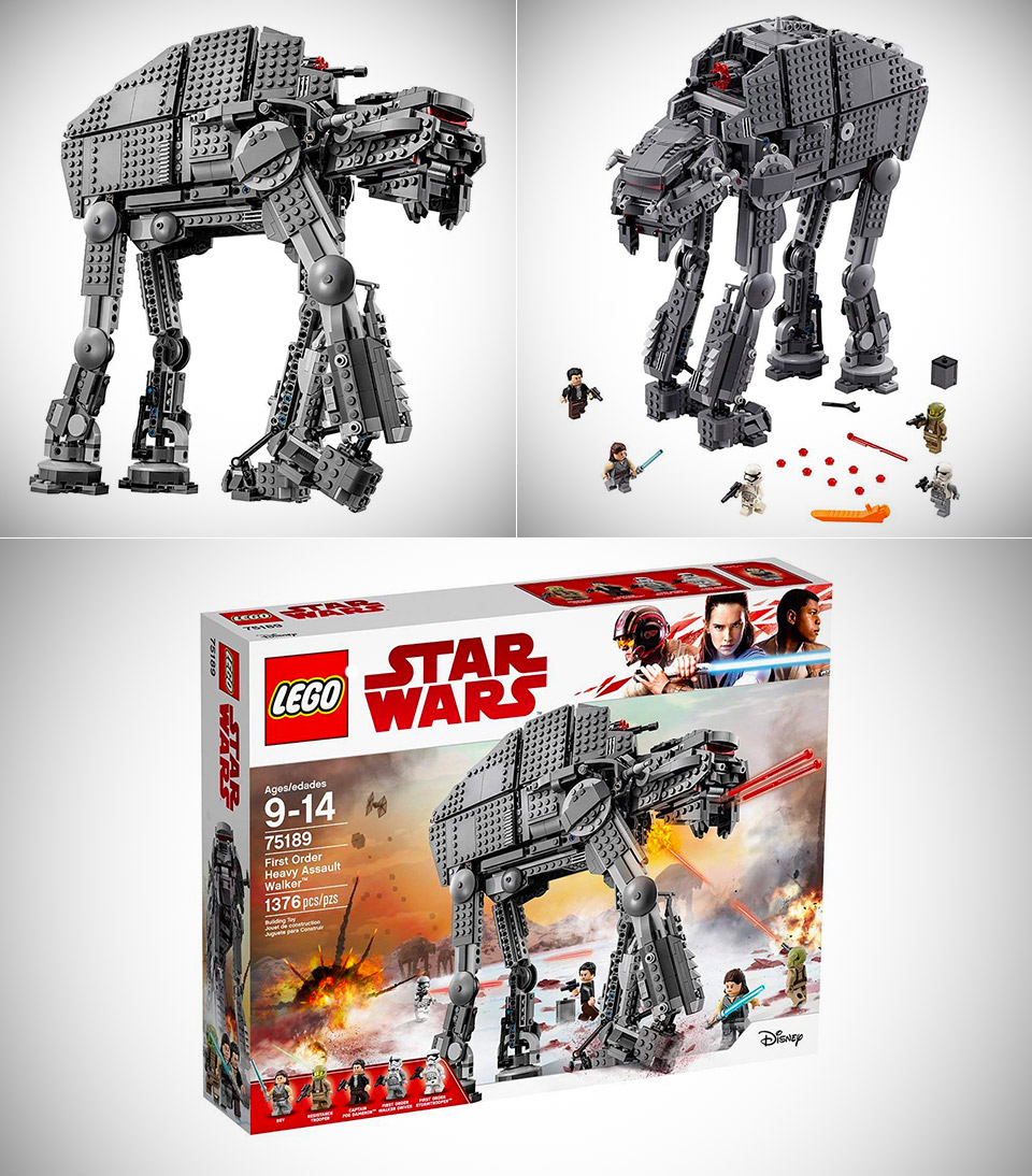 LEGO Heavy Assault Walker
