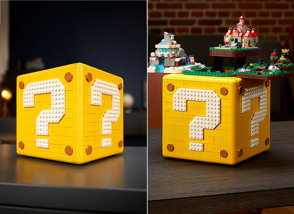 LEGO Super Mario 64 Coin Question Block