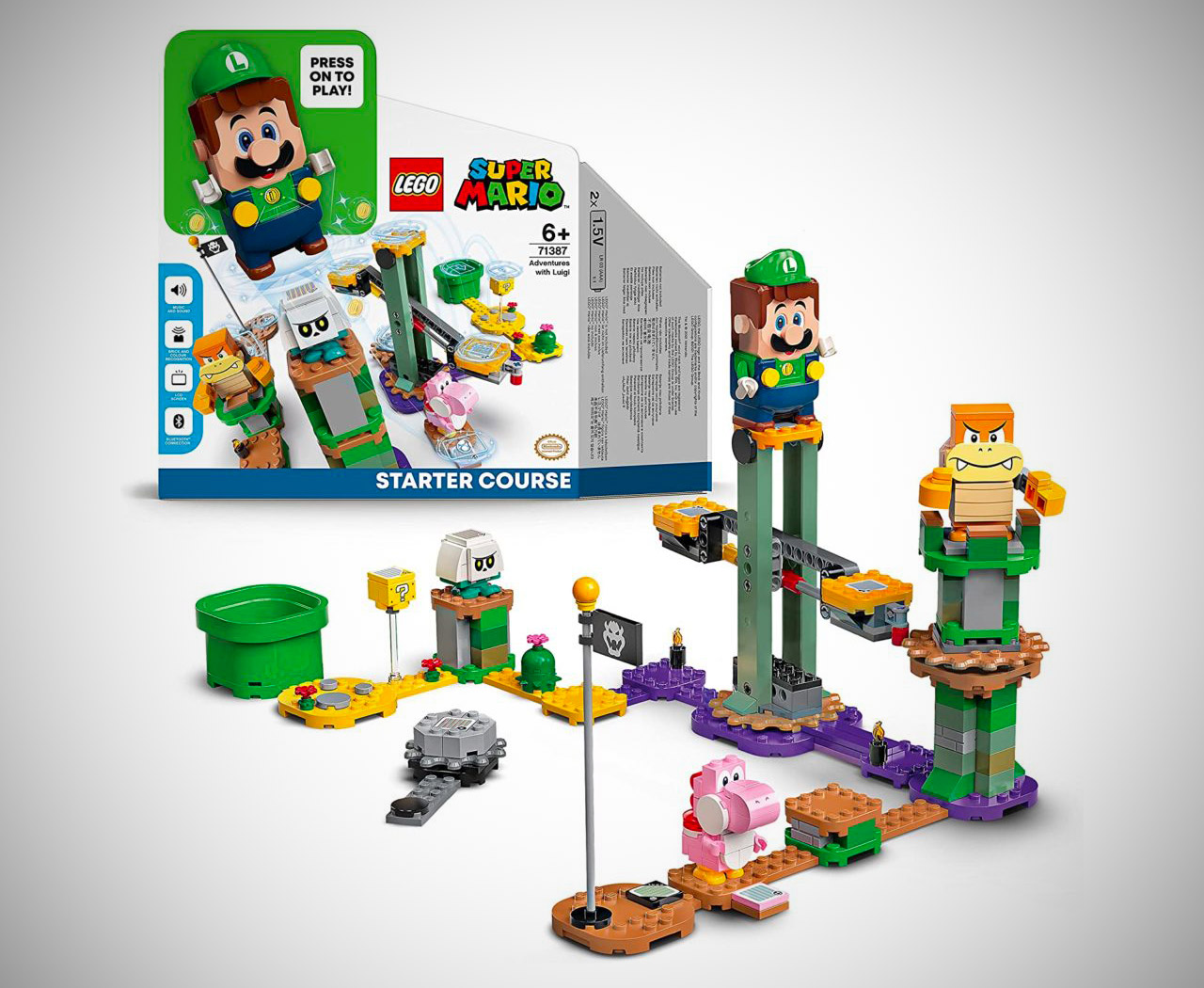 LEGO Super Mario Adventures with Luigi 71387