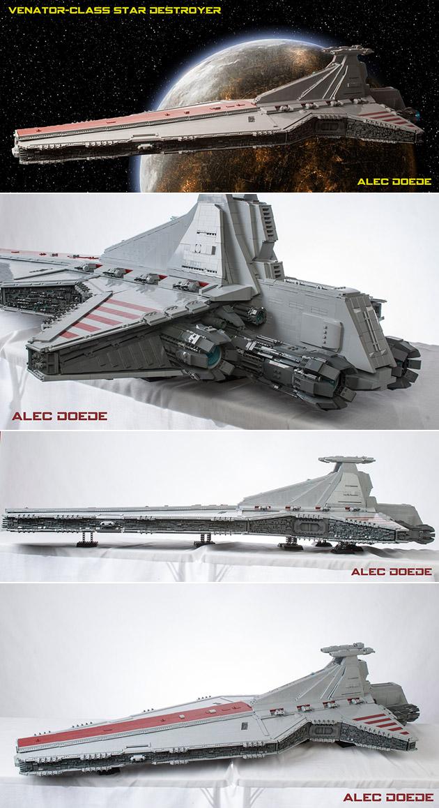 Venator LEGO Ship