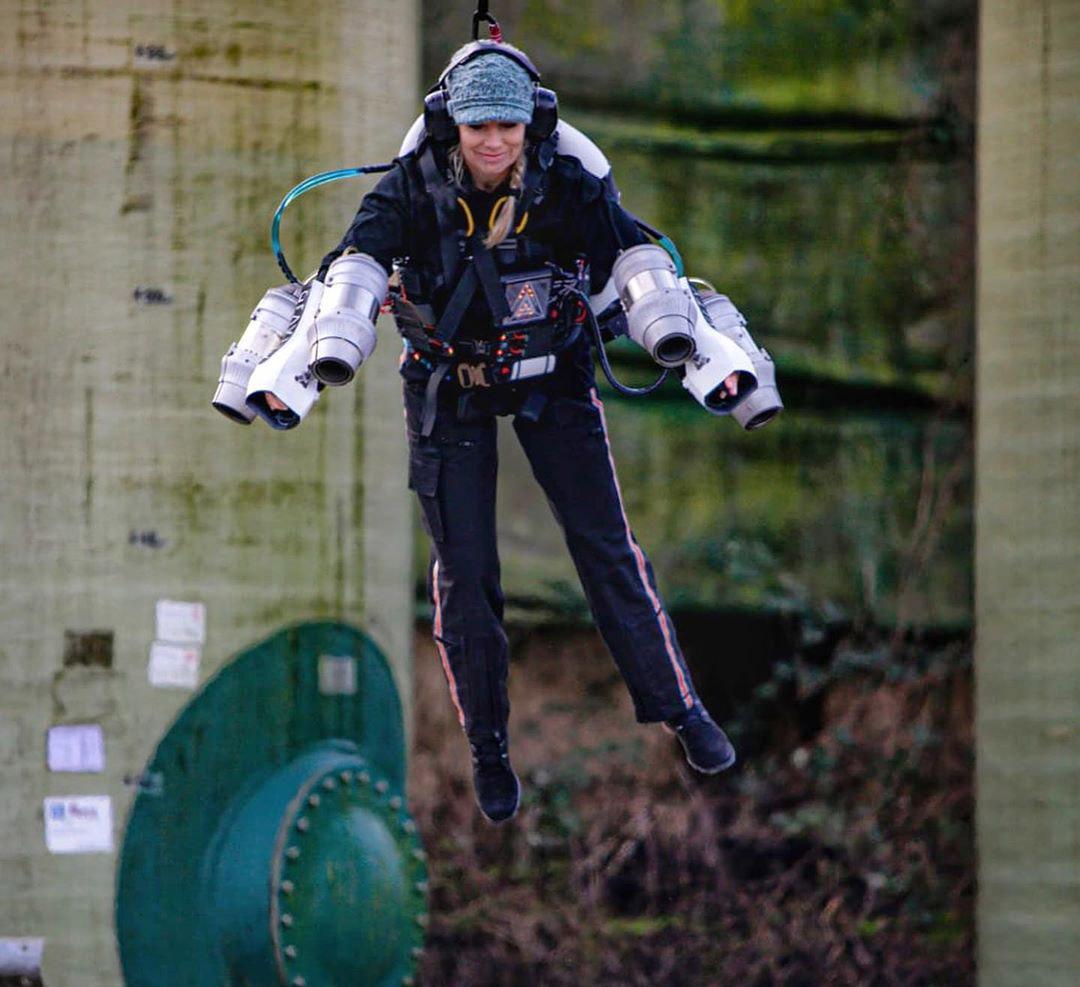 Leigh Coates Gravity Jet Suit