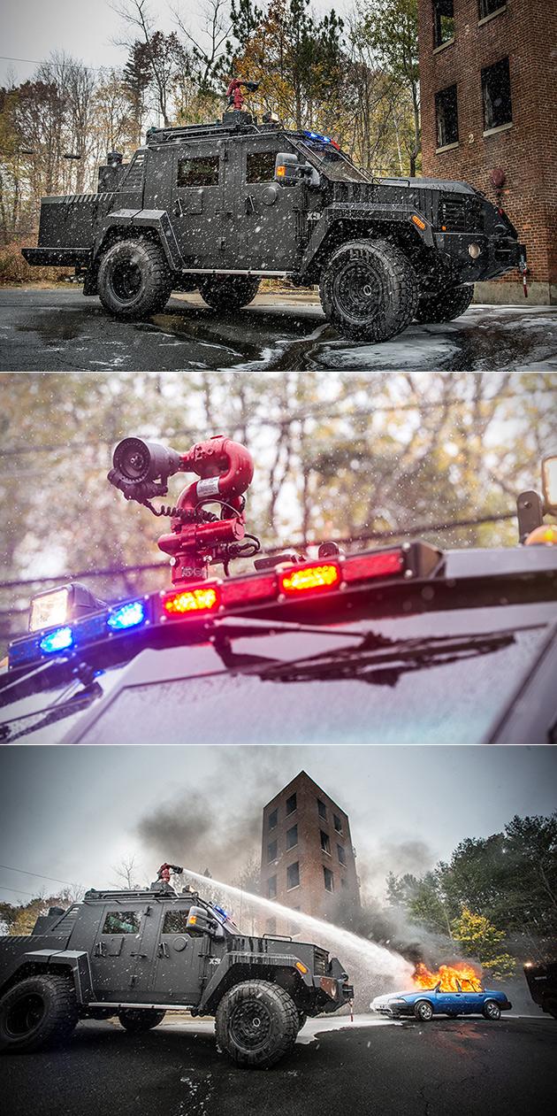 Lenco BearCar X3 FireCat