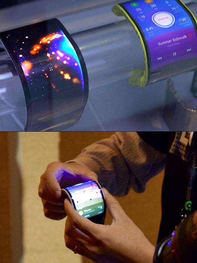 Lenovo Flexible Smartphone