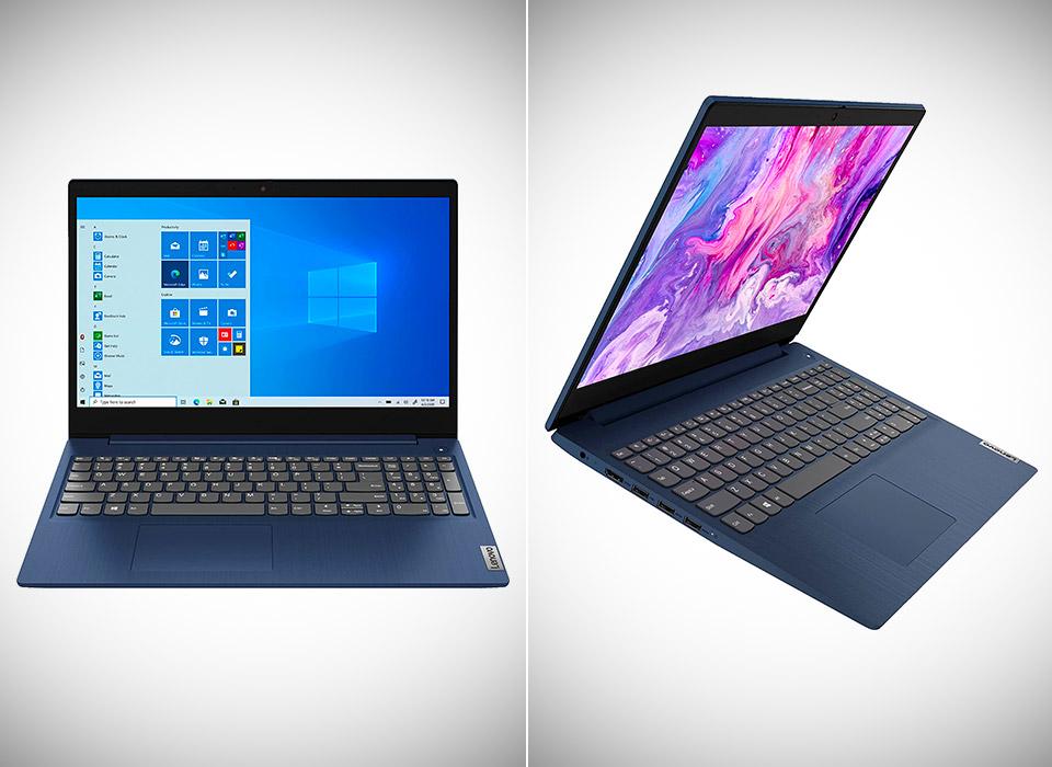 Lenovo IdeaPad 3 15.6-inch Touchscreen Laptop