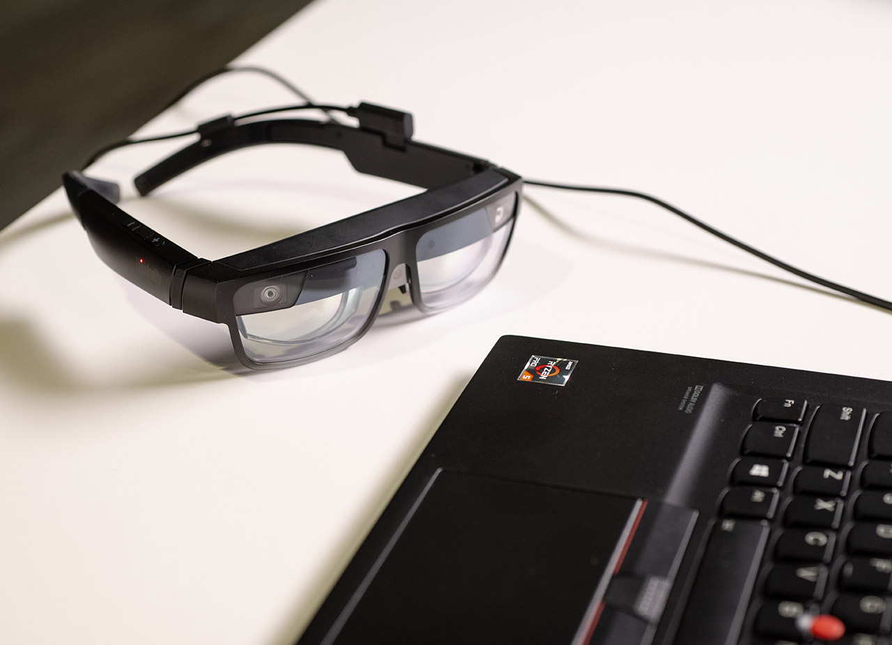 Lenovo ThinkReality A3 Augmented Reality Smartglasses
