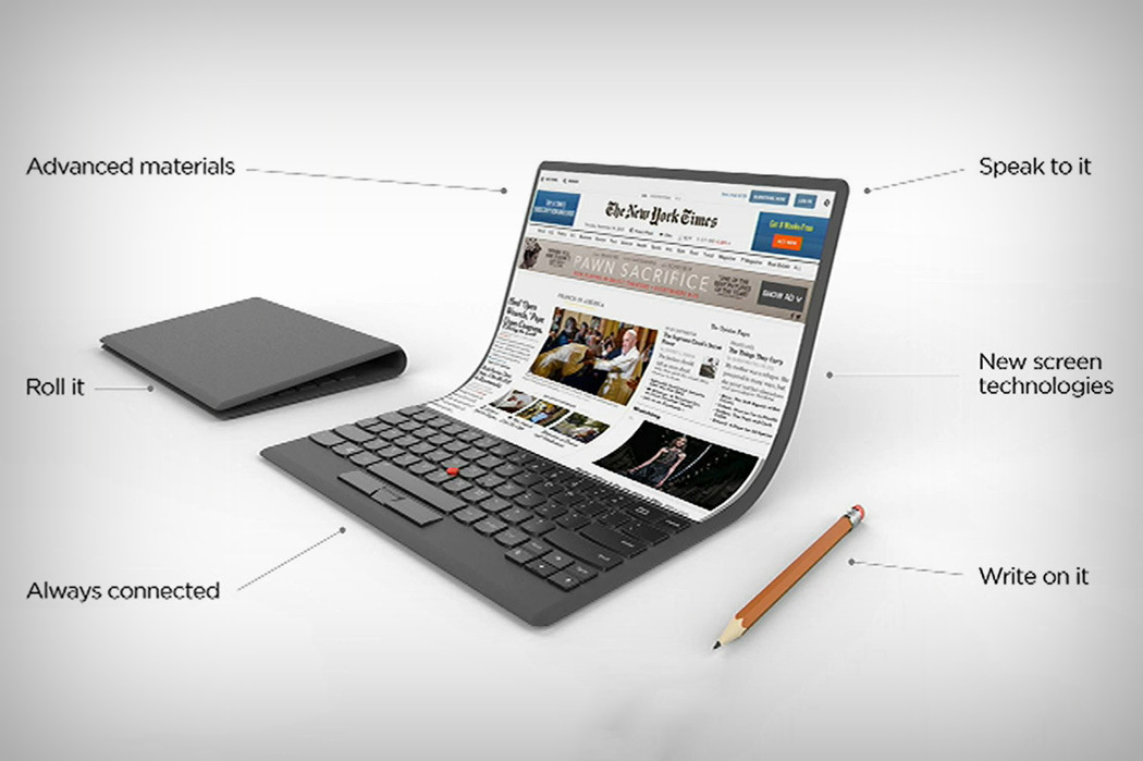 Lenovo Transform Flexible Laptop