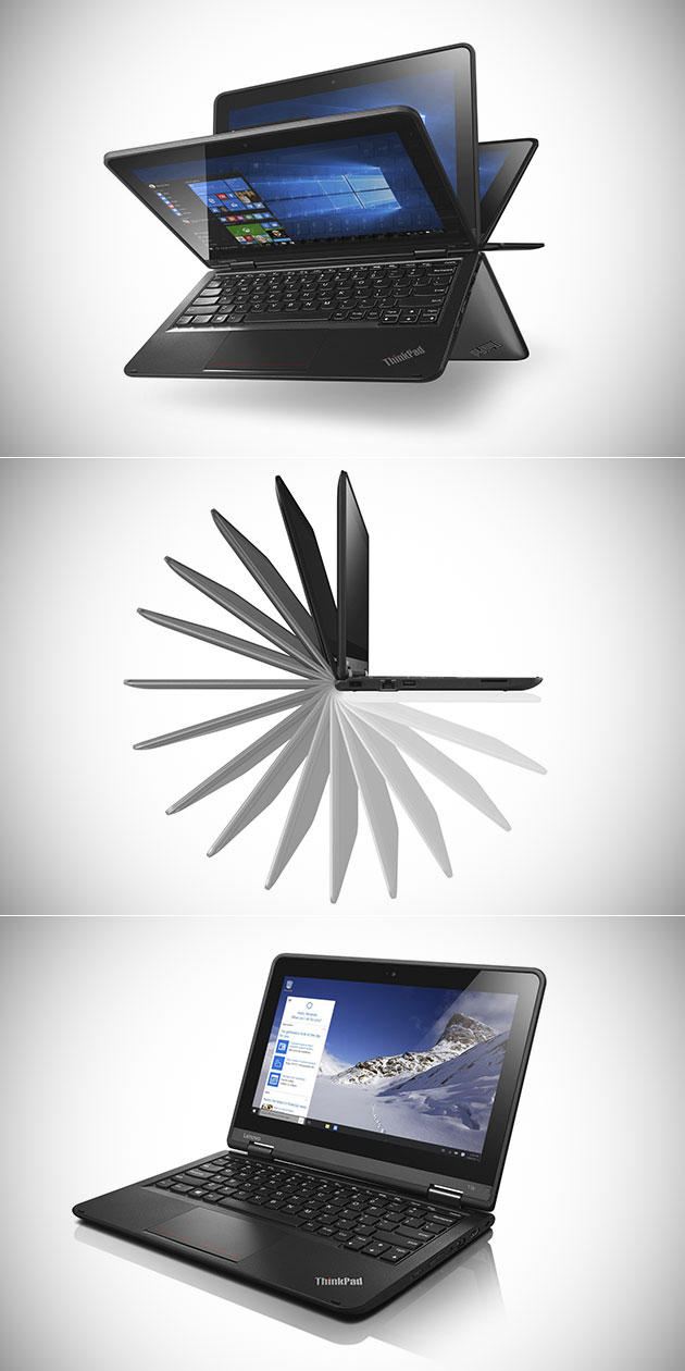 Lenovo Thinkpad Yoga 11E Windows 10 Laptop Doubles as a