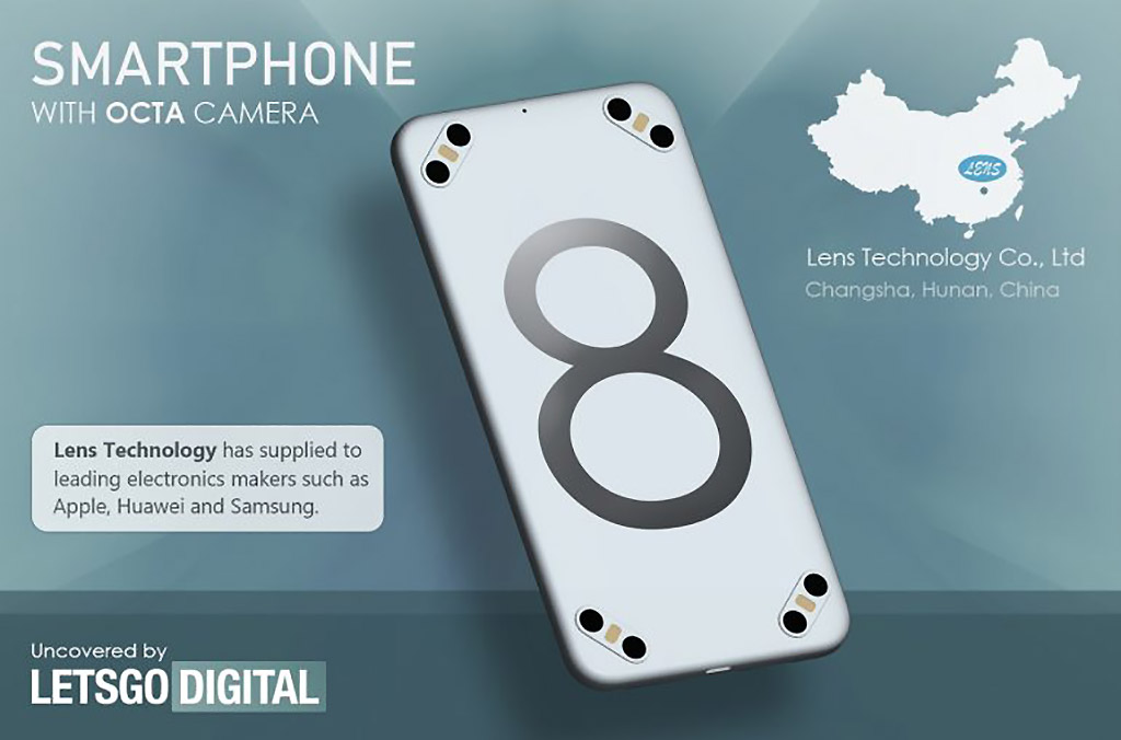 Lens Technology 8 Octa Camera Smartphone