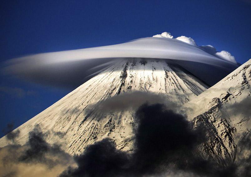 Lenticular UFO Cloud Russia