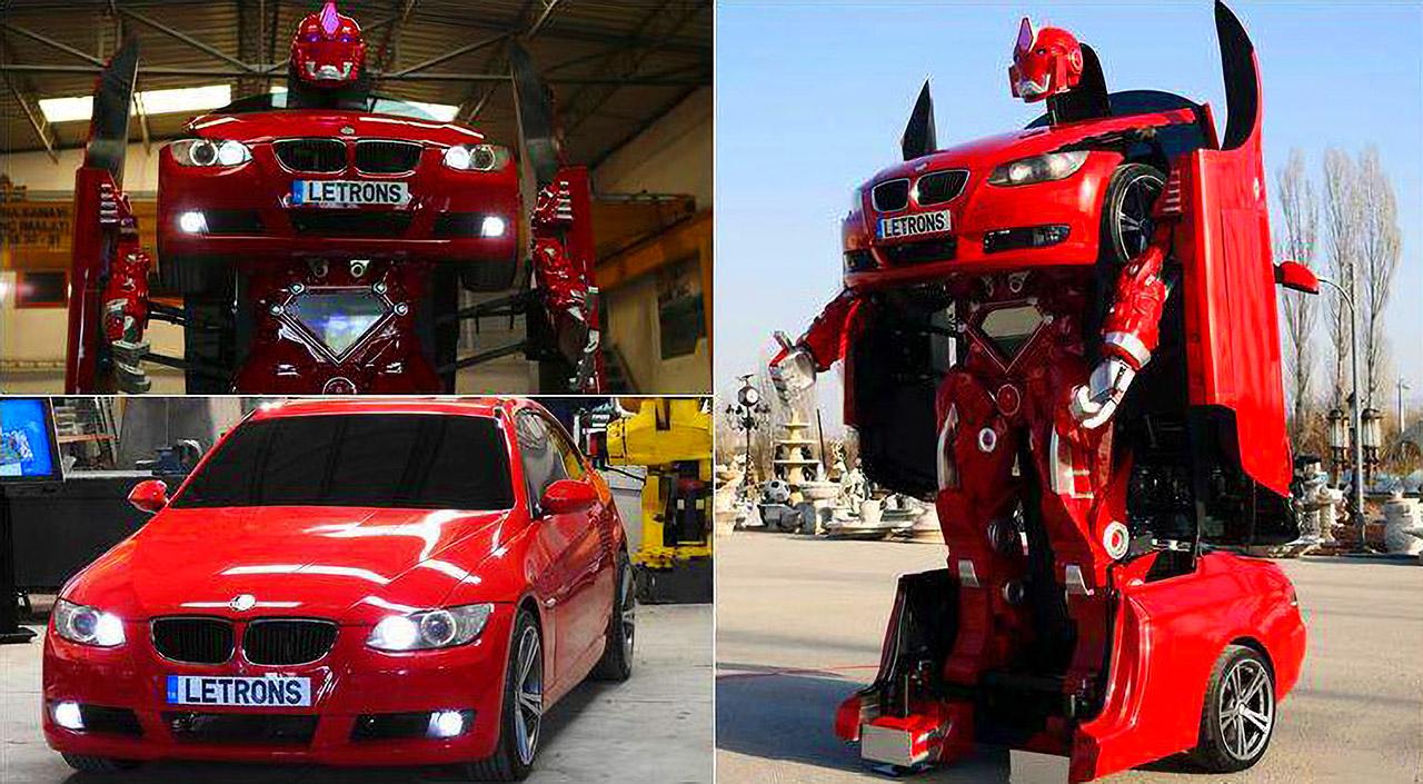 Letrons BMW Robot Transformer