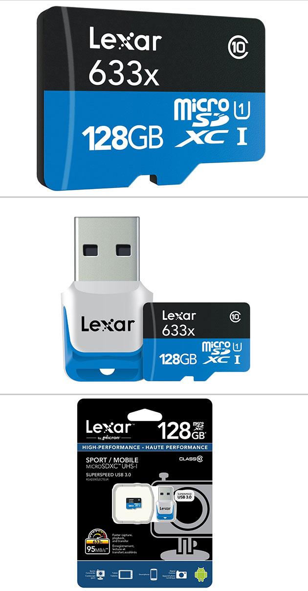 Lexar 128GB microSDXC