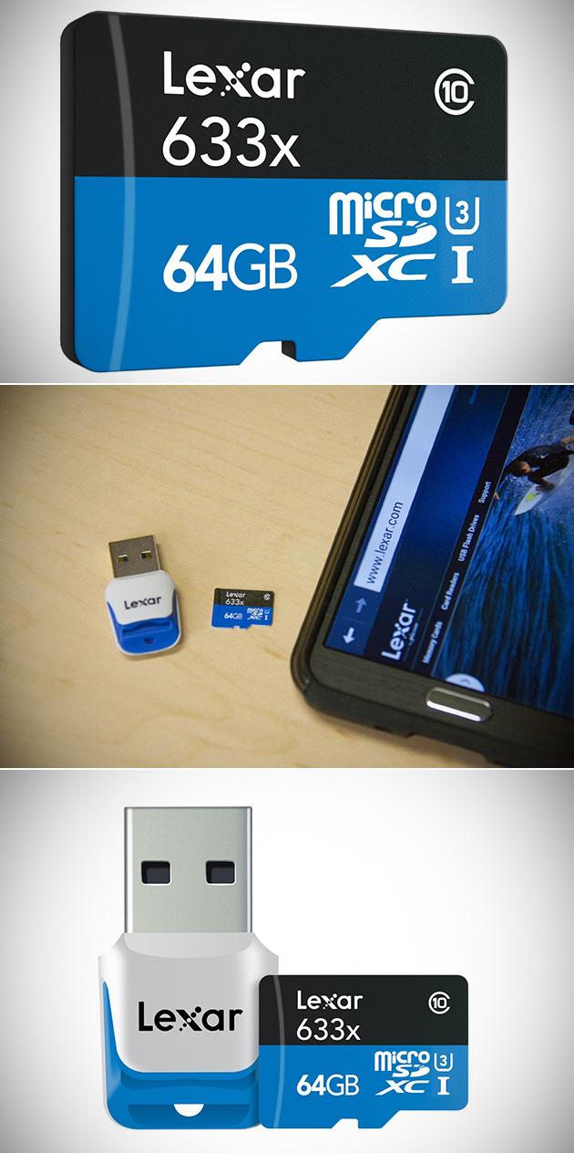 Lexar MicroSDXC