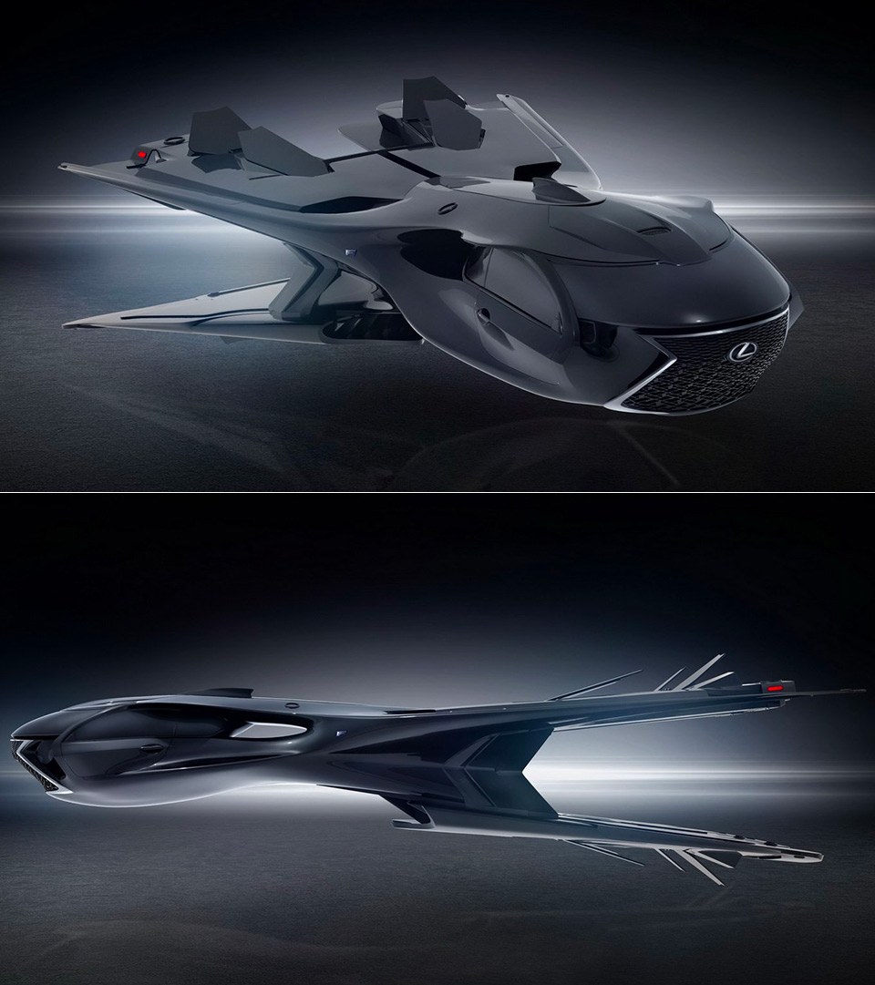 Lexus Galactic Enforcer Jet Men in Black