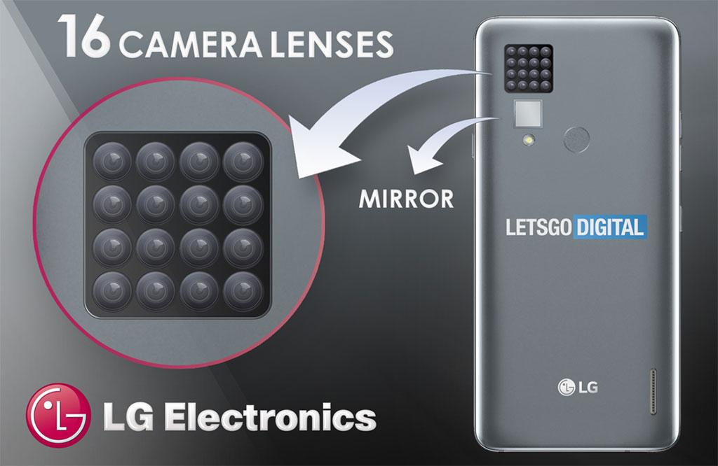 LG 16-Lens Camera Phone