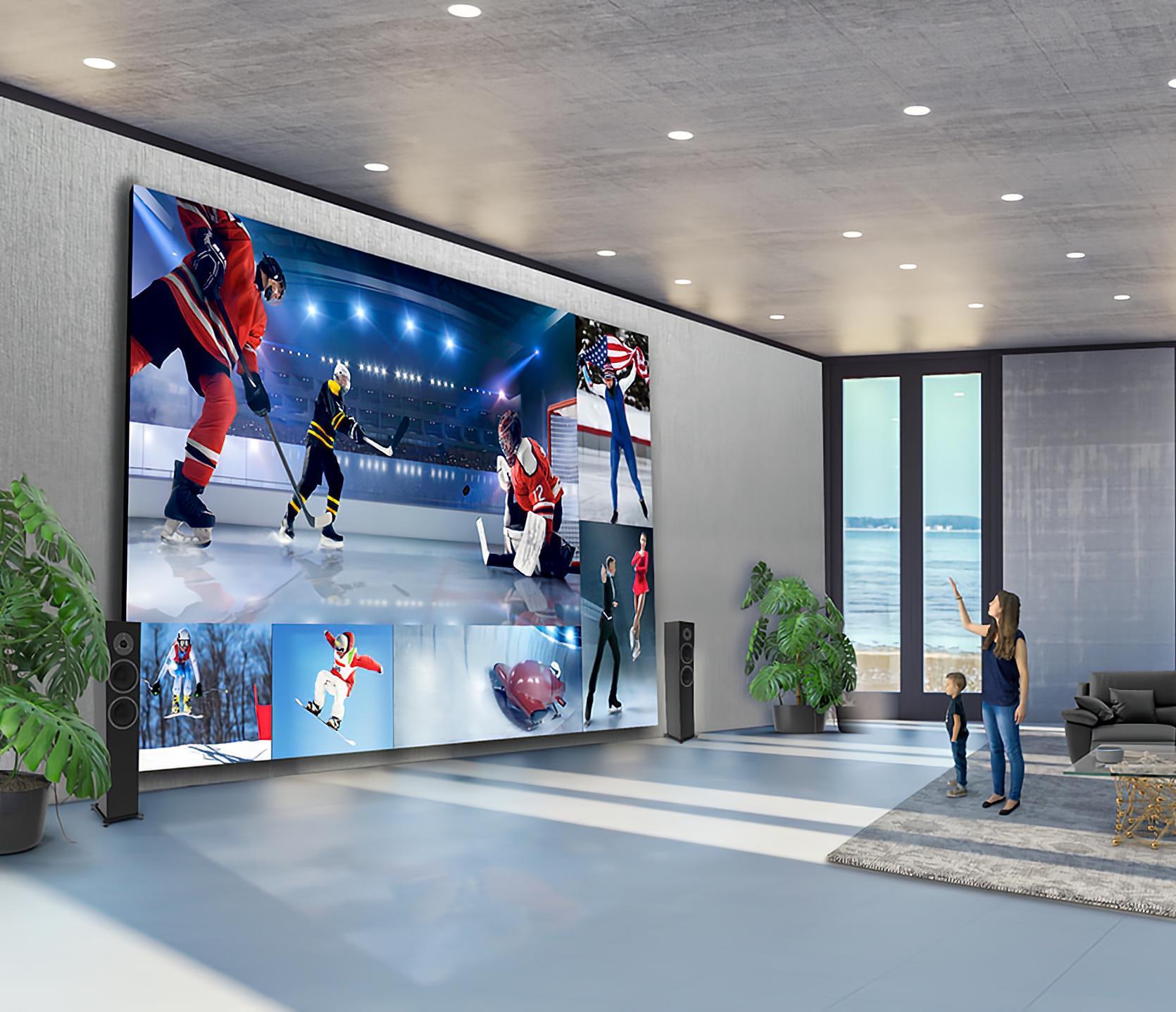 LG 325-inch Direct View LED DVLED 8K TV 1.7 Million