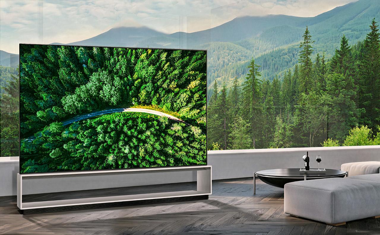 LG 88-inch 8K OLED TV