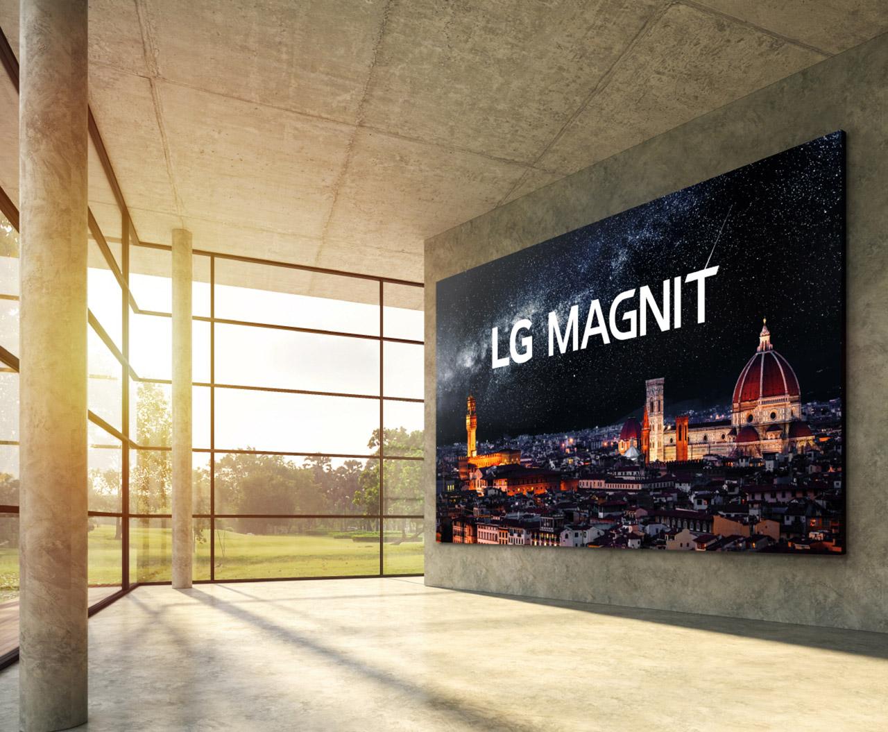 LG MAGNIT 163-inch MicroLED OLED