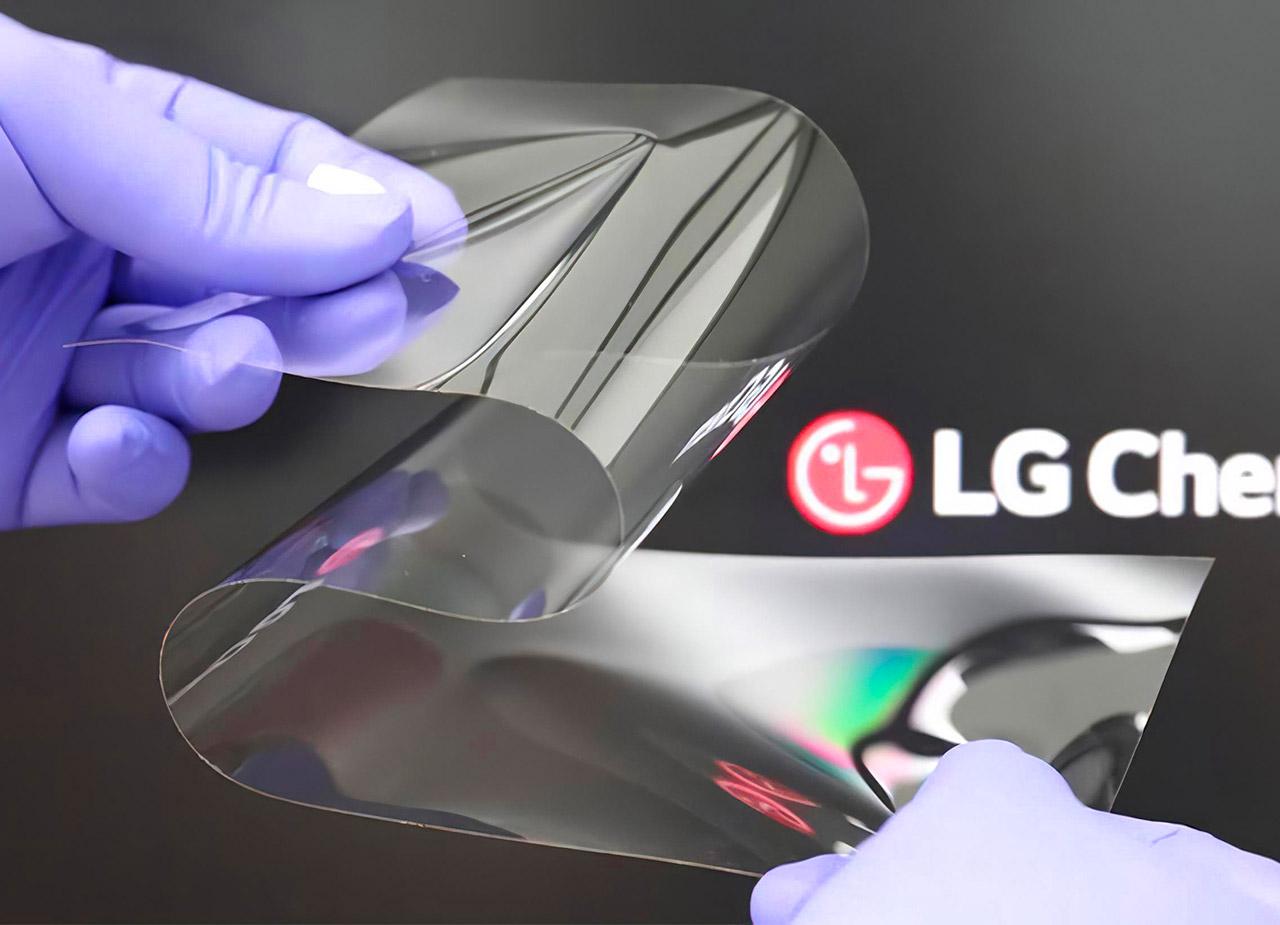 LG Real Folding Window Display Technology