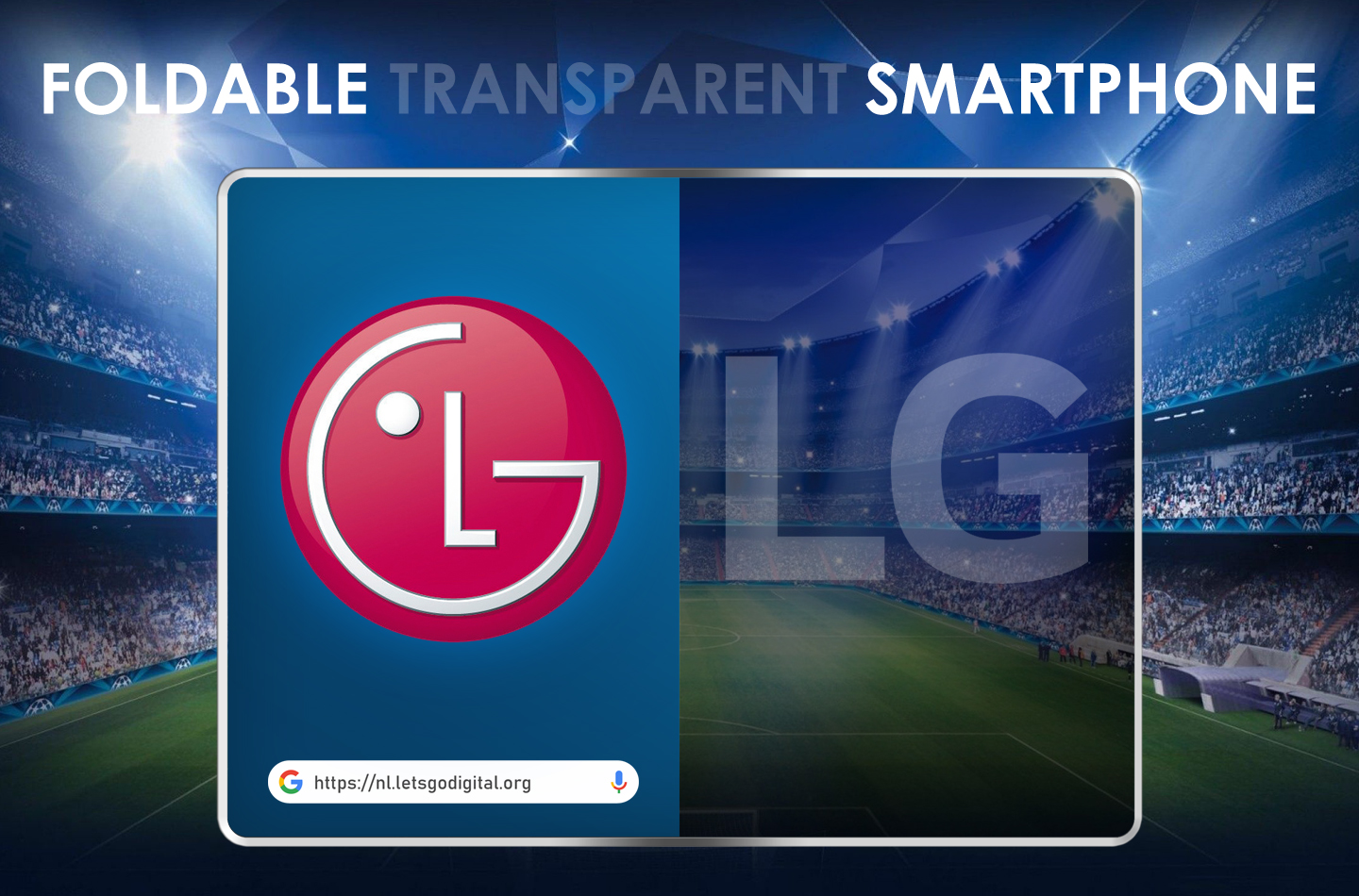 LG Transparent Foldable Mobile Phone
