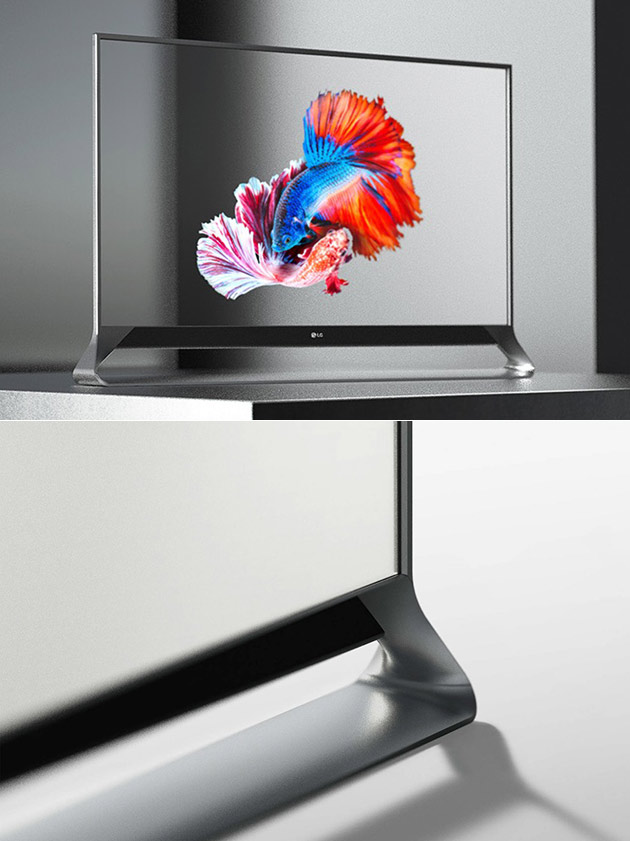 LG Transparent OLED TV