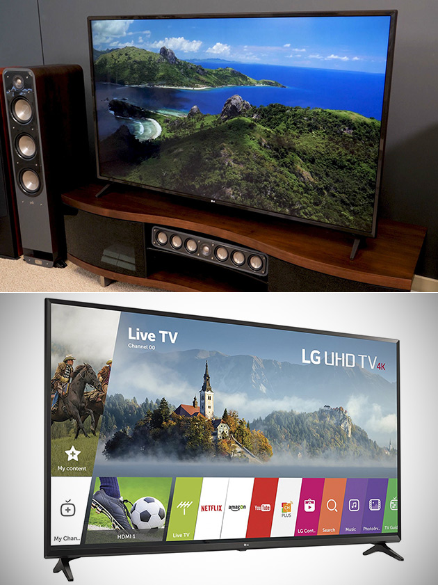 LG UJ6300 4K Ultra HD TV