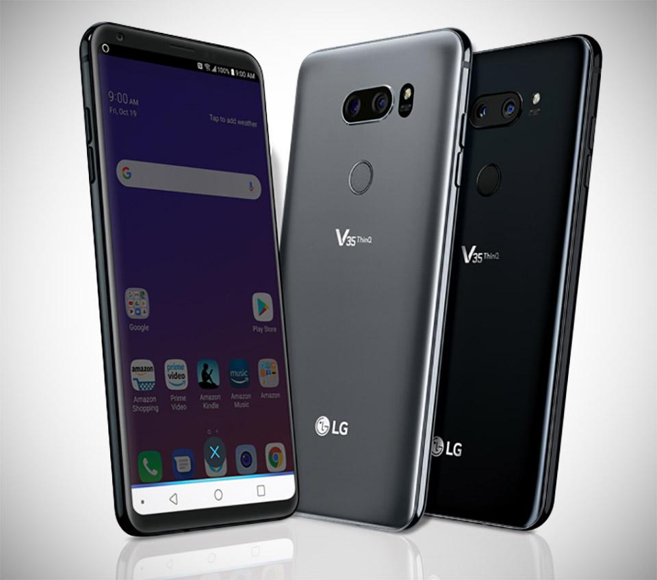 LG V35 ThinQ Alexa Review