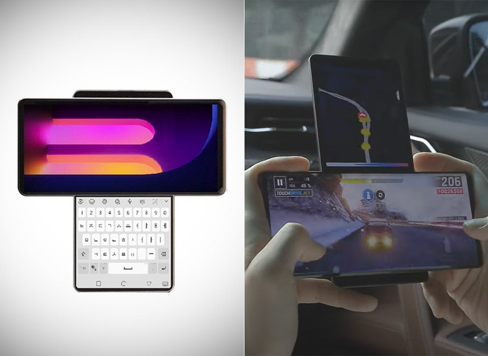 LG Wing Dual Screen Smartphone